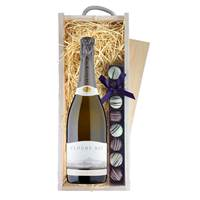 Buy & Send Cloudy Bay Pelorus & Truffles Wooden Box - Sparkling Wine Gifts