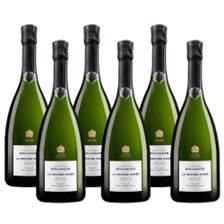Buy & Send Crate of 6 Bollinger Grande Annee 2012 75cl (6x75cl)