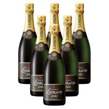 Buy & Send Crate of 6 Lanson Black Label Brut 75cl Champagne (6x75cl)