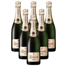 Buy & Send Crate of 6 Lanson Gold Label Vintage 2008 Champagne 75cl (6x75cl)