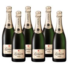 Buy & Send Crate of 6 Lanson Vintage 2009 Champagne 75cl (6x75cl)