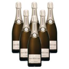 Buy & Send Crate of 6 Louis Roederer Brut Champagne 75cl (6x75cl)