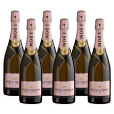 Buy & Send Crate of 6 Moet & Chandon Rose Champagne 75cl (6x75cl)