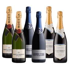Buy & Send Crate of 6 The Anglo-French Brut Collection (6x75cl)