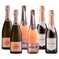 Buy & Send Crate of 6 The Anglo-French Rose Collection (6x75cl)