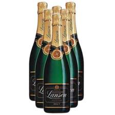 Buy & Send Case of 12 LANSON BLACK LABEL CHAMPAGNE (12x75cl)