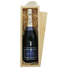 Buy & Send Laurnt Perrier Ultra Champagne In Wooden Sliding Lid Gift Box