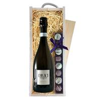 Buy & Send DIVICI Prosecco & Truffles Wooden Box