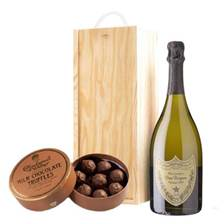 Buy & Send Dom Perignon Brut & Milk Charbonnel Chocolates Box