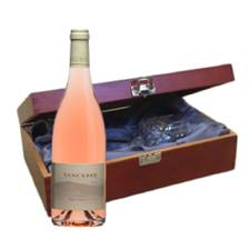 Buy & Send Domaine Doucet Paul & Fils Sancerre Rose - France In Luxury Box With Royal Scot Wine Glass