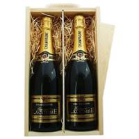 Buy & Send 2 x Jules Feraud Brut NV Wooden Box