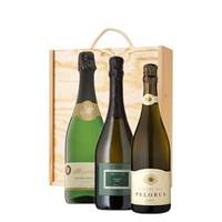 Buy & Send Sparkling Trio Box - Sparkling Wine Gifts