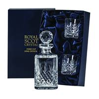 Buy & Send Royal Scot Crystal - Edinburgh Decanter Whisky Set