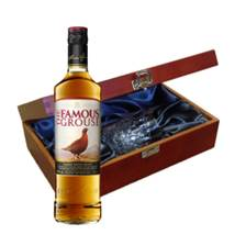 Buy & Send Famous Grouse Whisky In Luxury Box With Royal Scot Glass