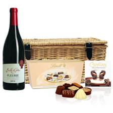 Buy & Send Fleurie Domaine du Montillet And Chocolates Hamper