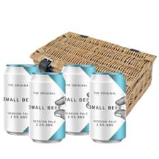 Buy & Send Four Can Hamper of Small Beer Session Pale 330ml (4 x 330ml)