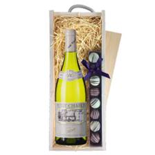 Buy & Send Gerard Tremblay Petit Chablis - France & Truffles, Wooden Box