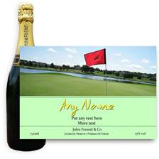 Buy & Send Jules Feraud Brut With Personalised Champagne Label Golf