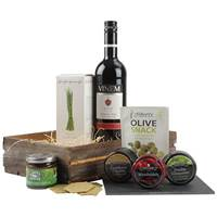Buy & Send Wine and Cheese Tray