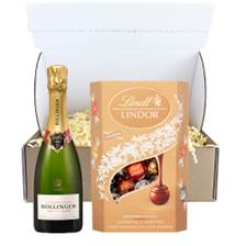 Buy & Send Half Bottle of Bollinger Special Cuvee Champagne 37.5cl And Chocolates In Postal Hamper