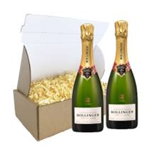 Buy & Send Half Bottle of Bollinger Special Cuvee Champagne 37.5cl Duo Gift Carton
