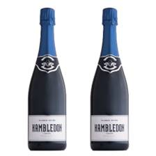 Buy & Send Hambledon Classic Cuvee English 75cl Twin Set