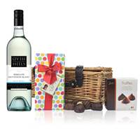 Buy & Send Head over Heels Semillion Sauvignon and Chocolates Hamper