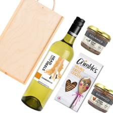 Buy & Send Head over Heels Chardonnay And Pate Gift Box