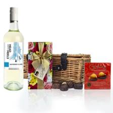 Buy & Send Head over Heels Semillion Sauvignon And Heart Chocolates Hamper