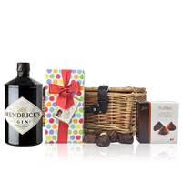 Buy & Send Hendricks Gin 70cl and Chocolates Hamper