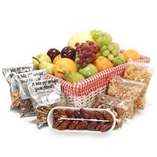 Buy & Send Fruit & Nut Basket - Fresh Fruit Gifts