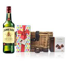 Buy & Send Jameson Blended Irish Whisky and Chocolates Hamper