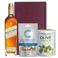 Buy & Send Johnnie Walker Gold Label Nibbles Hamper