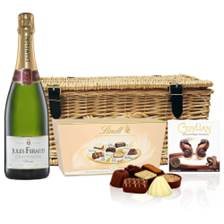 Buy & Send Jules Feraud Brut Champagne 75cl And Chocolates Hamper