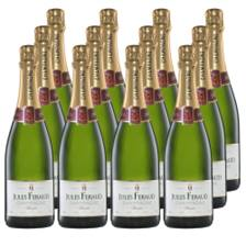 Buy & Send Jules Feraud Brut Champagne 75cl Crate of 12 Champagne
