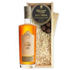 Buy & Send Lakes The One Signature Blended Whisky 70cl And Whisky Charbonnel Truffles Chocolate Box
