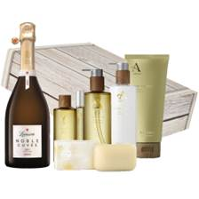 Buy & Send Lanson Noble Cuvee Brut Vintage 2000 And After the Rain Aromatherapy Gift Box