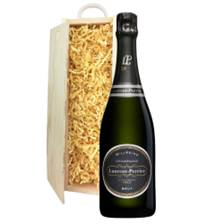 Buy & Send Laurent Perrier Vintage 2008 75cl In Wooden Sliding Lid Gift Box