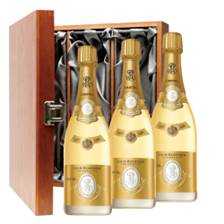 Buy & Send Louis Roederer Cristal Cuvee Prestige 2012 Treble Luxury Gift Boxed Champagne