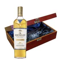 Buy & Send Macallan Double Cask Gold In Luxury Box With Royal Scot Glass