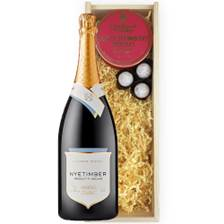 Buy & Send Magnum Of Nyetimber Classic Cuvee 150cl And Strawberry Charbonnel Truffles Magnum Box