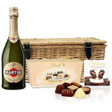 Buy & Send Martini Prosecco DOC NV 75cl And Chocolates Hamper