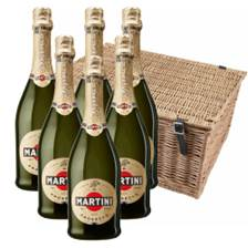 Buy & Send Martini Prosecco DOC NV 75cl Case of 6 Hamper