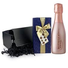 Buy & Send Mini Bottega Rose 20cl And Chocolates Gift Carton