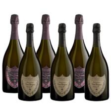 Buy & Send Mixed Case of Dom Perignon Brut and Rose (6x75cl)