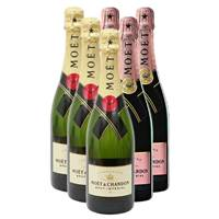 Buy & Send Mixed Case of Moet and Chandon (6x75cl)