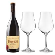 Buy & Send Monte Real Reserva And Crystal Classic Collection Wine Glasses
