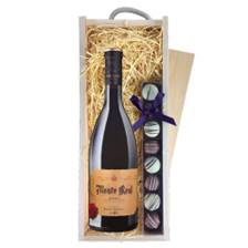 Buy & Send Monte Real Tinto Reserva de Familia Bodegas Riojanas  - Spain & Truffles, Wooden Box