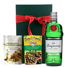Buy & Send Tanquery Gin Nibbles Hamper