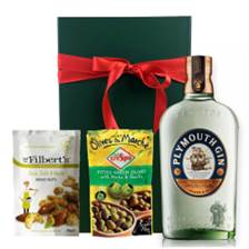 Buy & Send Plymouth Gin Nibbles Hamper